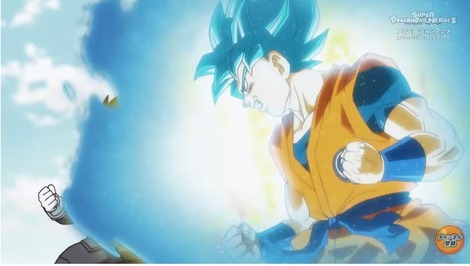 e99ca498 s - 『スーパードラゴンボールヒーローズ 監獄惑星 』第1話 感想..悟空vs悟空! 4とブルーが同等ww ベジットブルーかっこええ