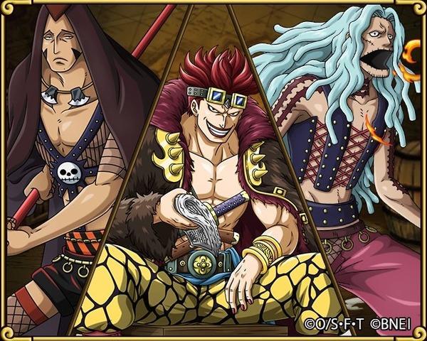 【悲報】ワンピースのキッド海賊団、とんでもなく落ちぶれる…