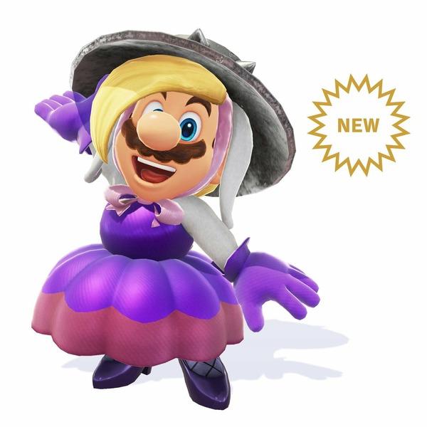 天下のマリオさん、とんでもない女装をしてしまうwww