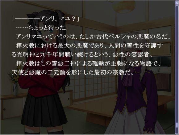 【画像】fateの衛宮士郎さん、アンリマユについてやたら詳しいwww