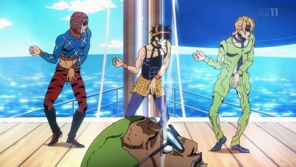 【朗報】アニメ『ジョジョ5部』、キレッキレのギャングダンスが完全再現され神回になる