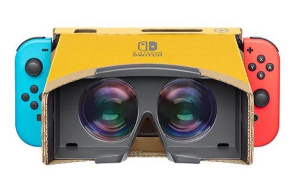【朗報】ゼルダの伝説botwとスーパーマリオオデッセイが「VRゴーグルToy-Con」に対応 ゲーム全編VRで楽しめる模様