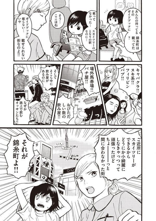 【悲報】錦糸町、漫画で馬鹿にされてしまう…