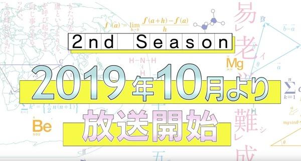 【速報】 僕たちは勉強ができない2期制作が決定!!!10月から放送開始