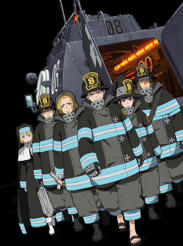 京アニ放火の影響で延期になっていたアニメ『炎炎ノ消防隊』が26日に放送決定! 放送再開できてよかった…