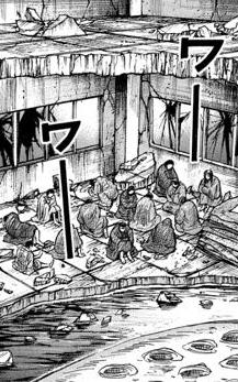 【画像】彼岸島さん、『ワーワー』の使い方が斬新wwww