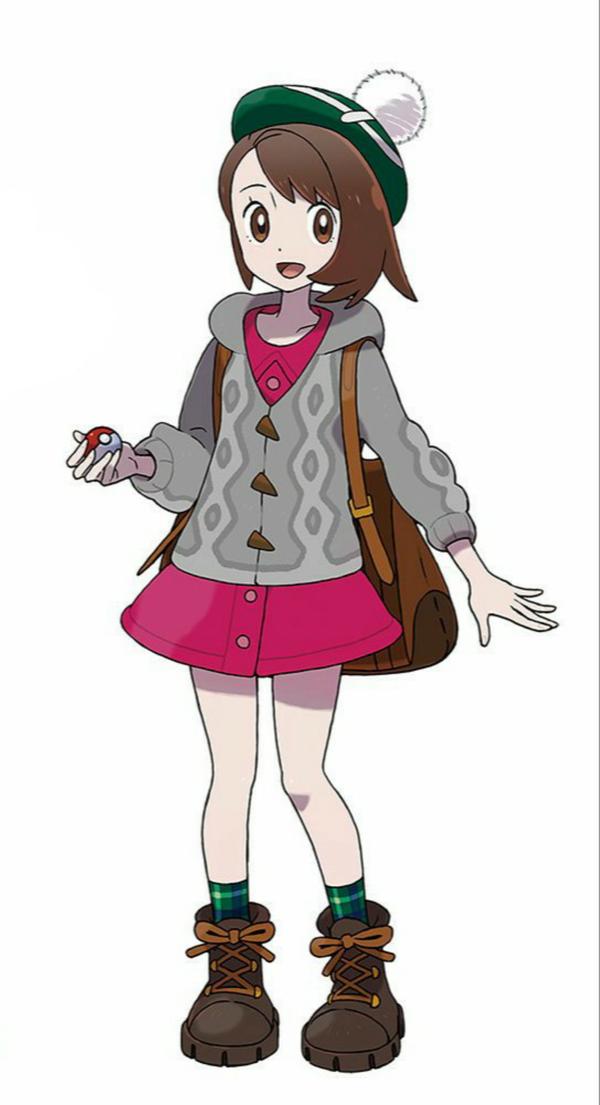【画像】ポケモンソード・シールドの女主人公ちゃんが可愛い