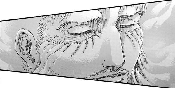 【進撃の巨人】ライナー・ブラウン、死ねるとわかりとても幸せそうな表情をする