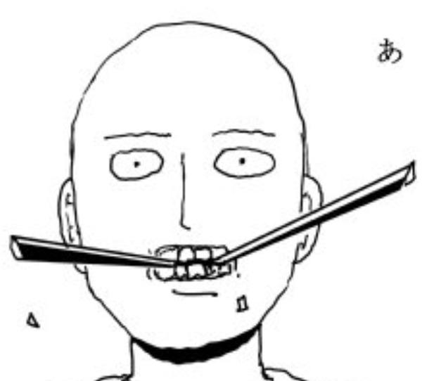 原作版ワンパンマンさん、無表情で剣を噛み砕く