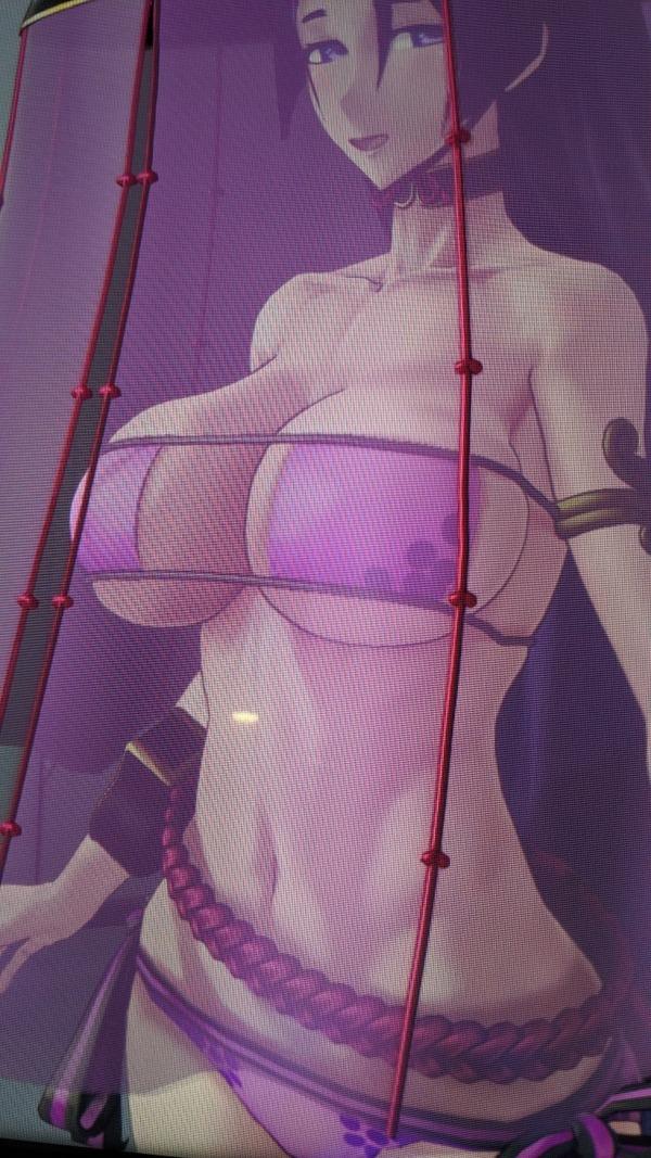 【fate】fgoアーケードの水着頼光さんが完全にアウト