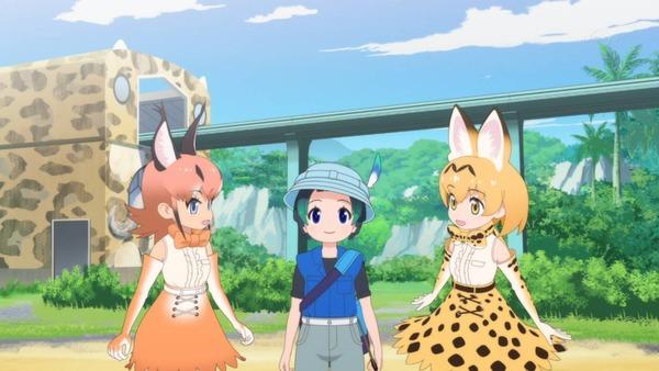 【感想】 けものフレンズ 3話 かわいい全振りのアニメになってきた 伏線あるしこれからに期待