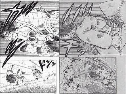 漫画さん、ドラゴンボールをパクるも画力の差が現れてしまう
