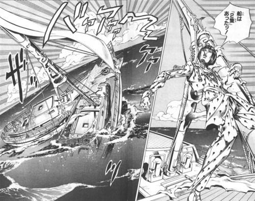 ジョジョ5部の「船は『2隻』あったッ!」←これ理解できた人いる?