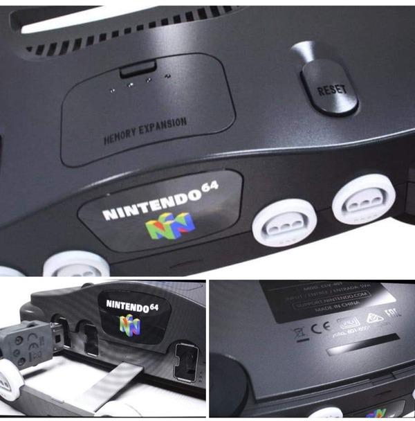 ニンテンドー64ミニの画像らしきものが公開される