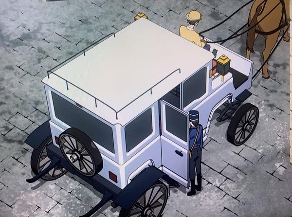 【画像】賢者の孫に出てきた馬車、色々とおかしいwww