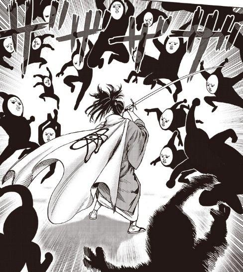 【悲報】ワンパンマンのアトミック侍、相性最悪の敵と遭遇してしまう