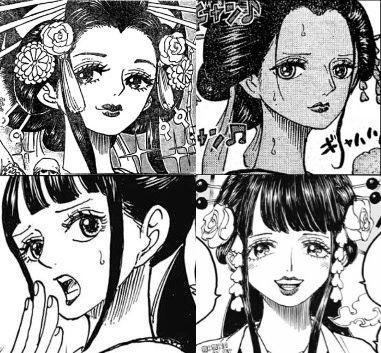 【ワンピース】ロビンとお菊と小紫、見分けつかなくない?