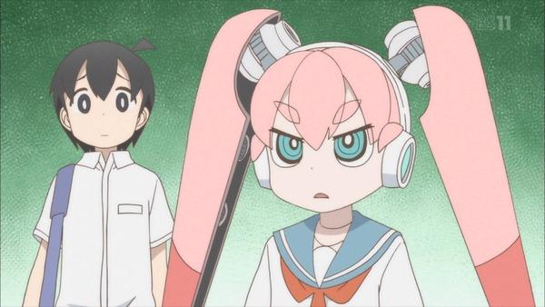 【感想】 上野さんは不器用 4話 ウエノ13号登場 今回はフェチ要素控えめだった