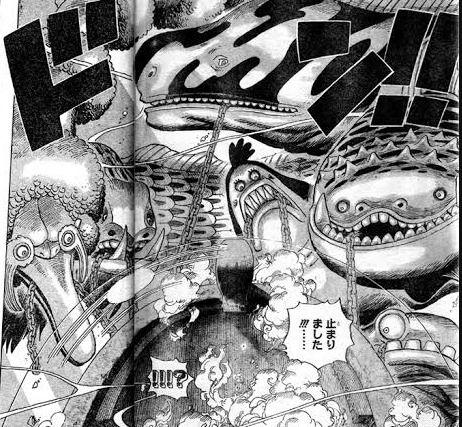 【ワンピース】 海王類の強さの立ち位置っていまいち不明だよな