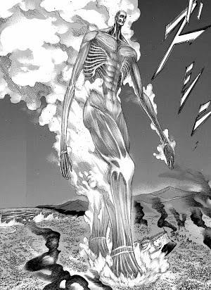 【進撃の巨人】 アルミン版超大型巨人、デカすぎる
