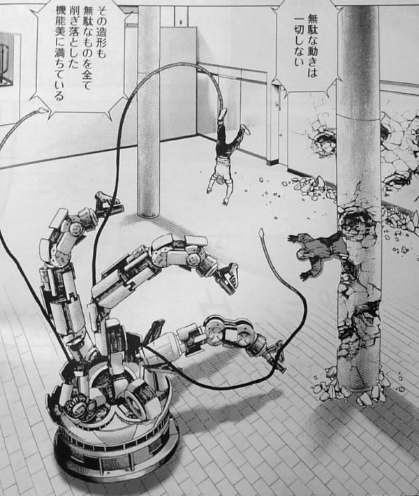 【ネタバレ】タフシリーズ最強キャラ達がロボットに瞬殺されてしまう 絵面がシュール過ぎてなんだこれは…