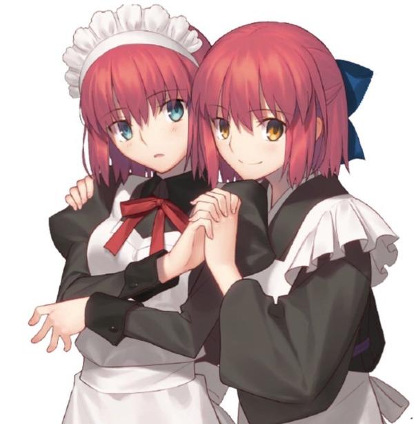 【朗報】Fate/Grand Order マテリアルで月姫の翡翠と琥珀に言及 コラボ来る可能性が!?