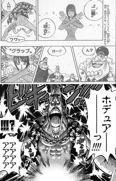 【ワンピース】ロビンが武装色覚えてハナハナの実でたまたま掴めば最強じゃないか?