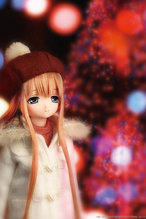 【ドール】えっくす☆きゅーと ふぁみりー みあの冬休み 冬にぴったしな可愛いお洋服《12月仮予約》