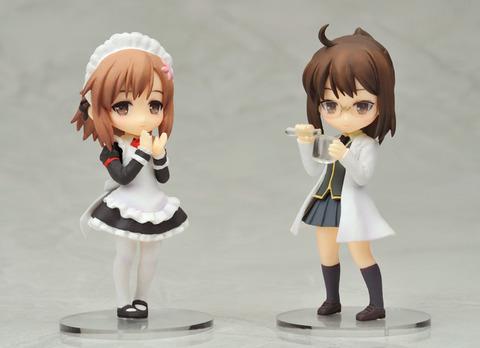 【フィギュア】『僕は友達が少ない』「志熊理科」、「楠幸村」 Twin Packで登場…2012年9月・発売予定