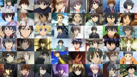 【画像あり】お前らってアニメの男主人公のこともちゃんと覚えてるの?