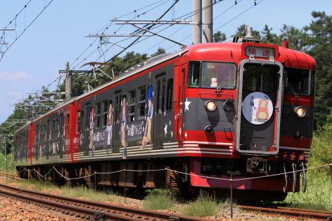 【コラボ】しなの鉄道「あの夏で待ってる」ラッピング列車運行開始