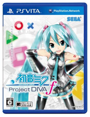 【ゲーム】『初音ミク -Project DIVA- f』が約16万本を売り上げVita最高の初動を記録