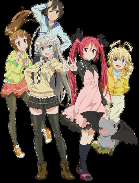 【アニメ】『這いよれ!ニャル子さんW』4月放送開始― テレビ東京他、OP曲、キービジュアル公開