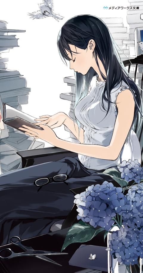 【ラノベ】第3巻発売!『ビブリア古書堂の事件手帖』シリーズ累計300万部突破!