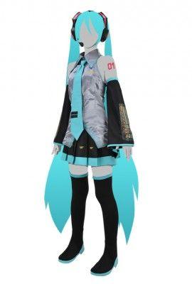 【コスプレ】「初音ミク」公式コスプレ衣装― オフィシャル監修でこだわりの一品 ※XLは無い!