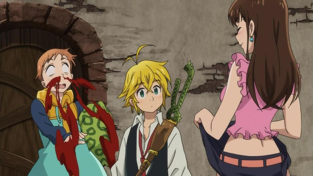 Image result for The Seven Deadly Sins anime pinterest