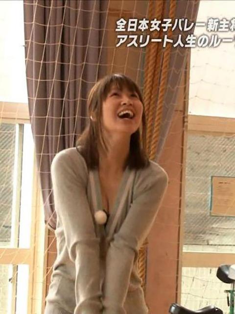 木村沙織の巨乳おっぱいは日本の女子アスリートの宝だろwwwww(画像あり)