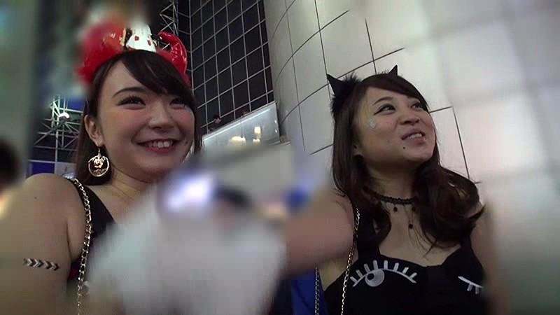 【有名人,素人画像】渋谷のハロウィンでナンパした素人と着衣セックスしてるエロ動画
