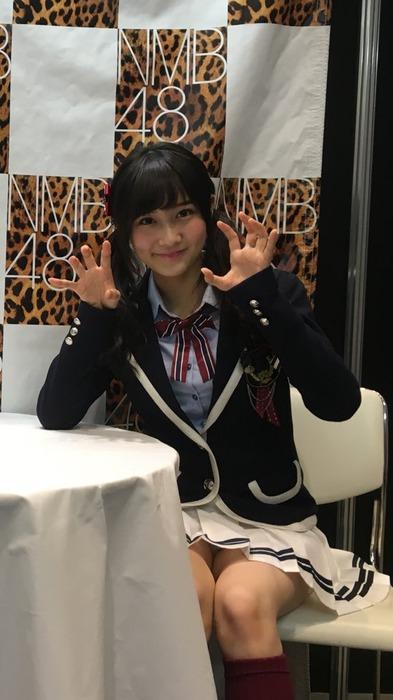 NMB48 矢倉楓子/ふぅちゃんが写メ会でパンチラ連発してヲタ釣りしてるさかい