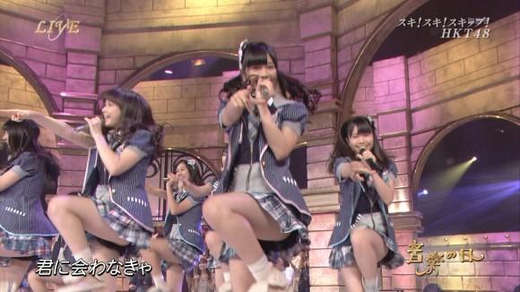 AKB48グループがライブでミニスカ衣装で踊ってるエロ画像まとめ 【NMB48、乃木坂46、SKE48、HKT48】