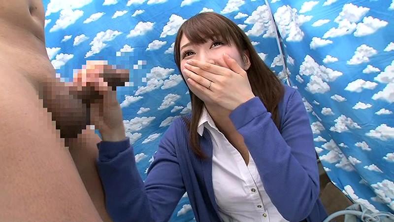 【有名人,素人画像】恵比寿で見つけた美人人妻にビッグサイズのちんぽ見せつけてるエロ動画