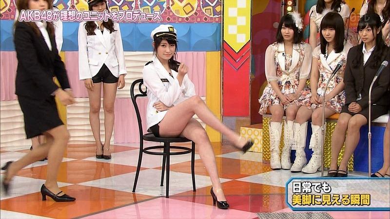 AKB48が美脚グループをプロデュースしてるエロ画像
