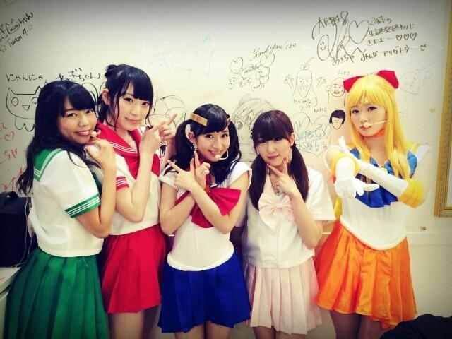 AKB48Gのセーラームーンコスプレが可愛い
