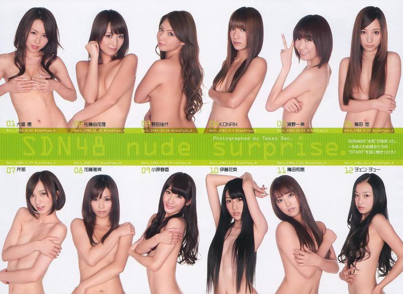 SDN48メンバーが手ブラしてるエロ画像