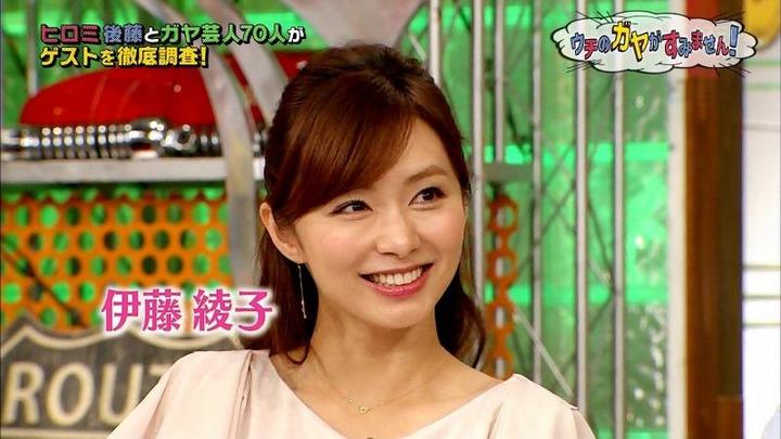 伊藤綾子女子アナ(34) のミニスカ姿がエロい