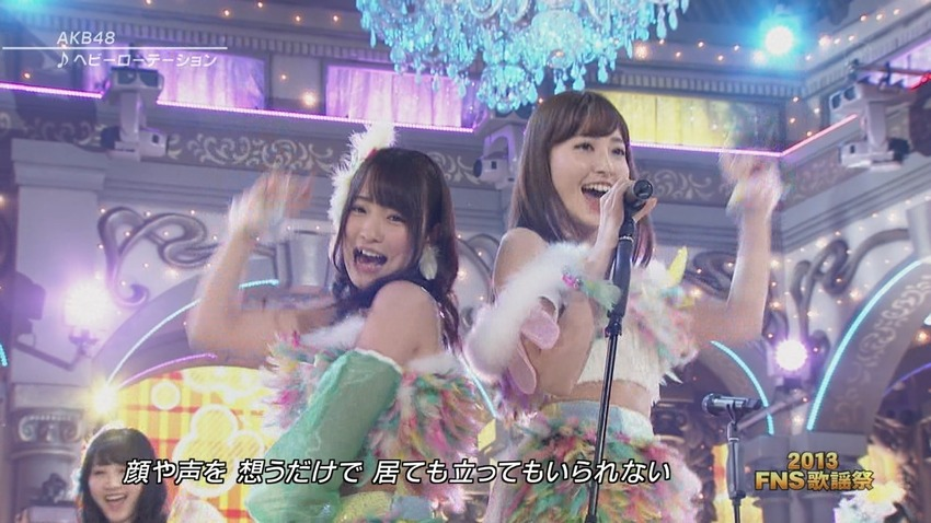 2013FNS歌謡祭で踊ってるAKB48のエロ可愛い画像まとめ