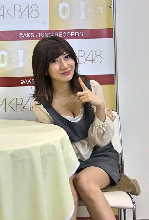 AKB48石田晴香が露骨なエロ釣りをしかける