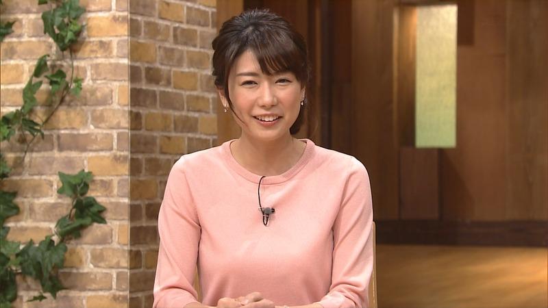 青山愛女子アナの着衣おっぱい 報道ステーション