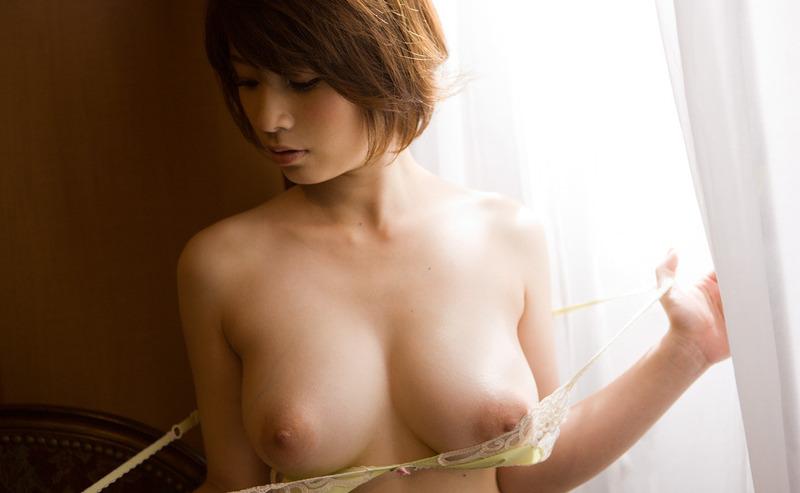 奥田咲 AV女優のハメ撮りエロ画像