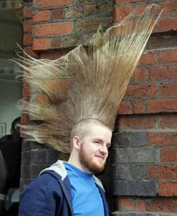 よくわからない髪型24